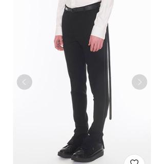 ドレスドアンドレスド(DRESSEDUNDRESSED)のDRESSEDUNDRESSED White Stitch Zip Slacks(スラックス)