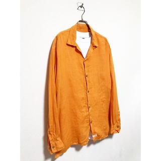 シーピーカンパニー(C.P. Company)のvintage 90s c.p.company オーバーサイズ オレンジ シャツ(シャツ)