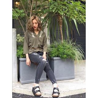 スピンズ(SPINNS)のファッション トップス スカート ワンピース INGNI GRL Heather(デニム/ジーンズ)
