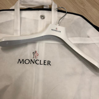 モンクレール(MONCLER)のモンクレール♡保存袋ハンガー(押し入れ収納/ハンガー)
