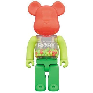MY FIRST BE@RBRICK B@BY NEON 100% 400%