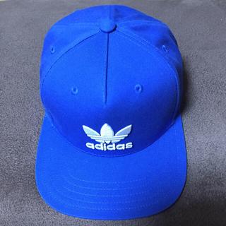 アディダス(adidas)の新品 adidas アディダス キャップ 帽子 ブルー(キャップ)