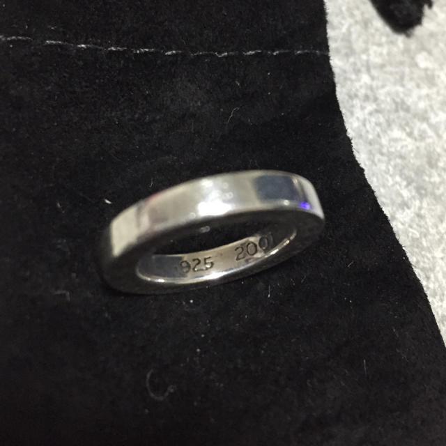 Chrome Hearts(クロムハーツ)のクロムハーツ スペーサーリング 4号 メンズのアクセサリー(リング(指輪))の商品写真