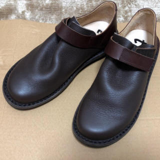 トリッペン(trippen)のショコラ様専用 トリッペン beutel サイズ37 (ローファー/革靴)