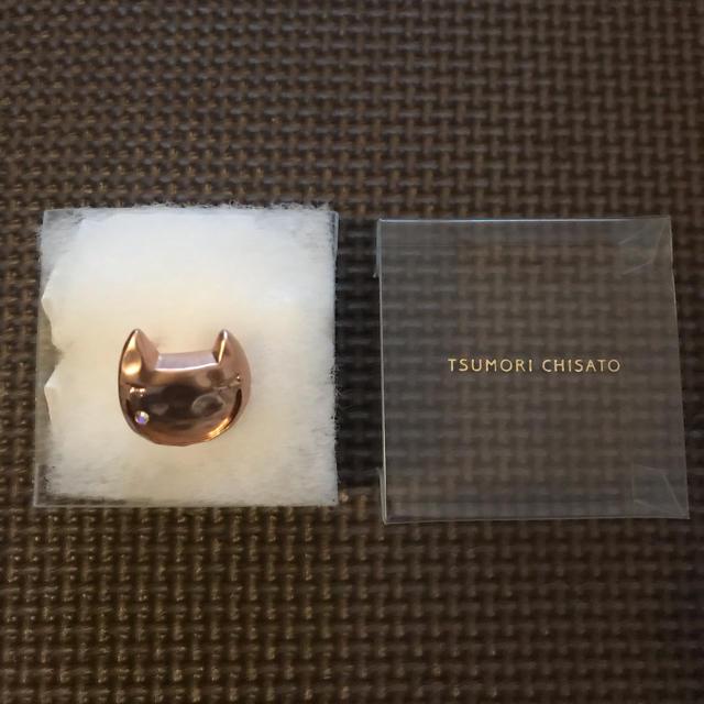 TSUMORI CHISATO(ツモリチサト)のTSUMORI CHISATO ネコ 指輪 レディースのアクセサリー(リング(指輪))の商品写真