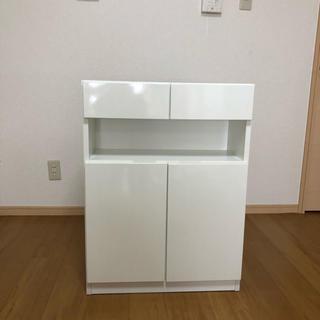 電話台 背面収納 直接引取(大阪)(電話台/ファックス台)