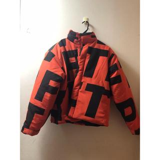 シュプリーム(Supreme)のFTP Jumbo puffer jacket Orange M(ダウンジャケット)