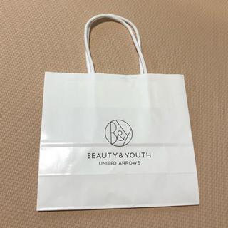 ビューティアンドユースユナイテッドアローズ(BEAUTY&YOUTH UNITED ARROWS)の紙袋 ビューティー&ユース(ショップ袋)