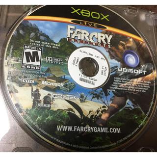 エックスボックス(Xbox)のXbox farcry instincts(家庭用ゲームソフト)