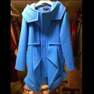 ウォール(WALL)のクロマ ネンドロイドコート 青色(テーラードジャケット)