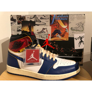 ナイキ(NIKE)のUNION AIR JORDAN 1 RETRO HI US10 28cm(スニーカー)