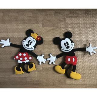 ディズニー(Disney)のミッキー&ミニー スマホスタンド(その他)