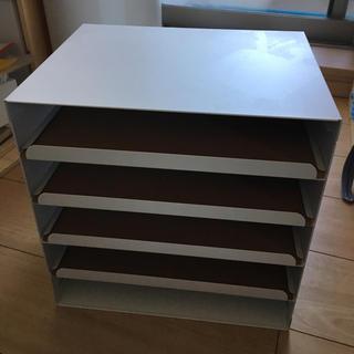 イケア(IKEA)のIKEA書類収納ケース a4が横に入ります(オフィス収納)