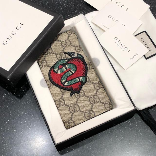 プラダ iphone8plus カバー 安い | Gucci - 格安 未使用美品 GUCCI iPhone7/8ケースの通販 by m|グッチならラクマ