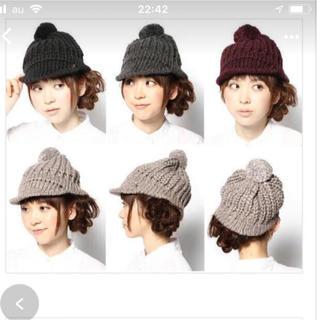 ジャーナルスタンダード(JOURNAL STANDARD)のCA4LA クラッシックマカロンニット帽(ニット帽/ビーニー)