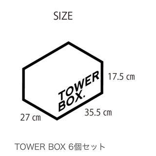 アンディフィーテッド(UNDEFEATED)のtower box(ケース/ボックス)
