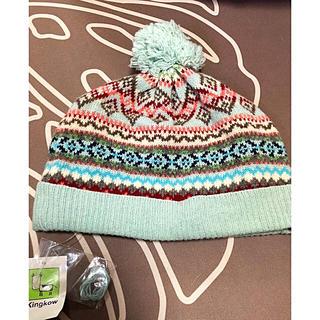 ザラ(ZARA)のインポートニット帽(帽子)