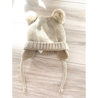 ザラ(ZARA)の【ZARA baby 】ベイビーニット帽・新品・未使用➖46cm(帽子)