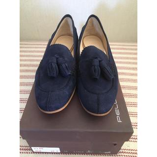 ペリーコ(PELLICO)の【まめぞう様専用】新品未使用 PELLICO タッセル付きローファー 35.5(ローファー/革靴)