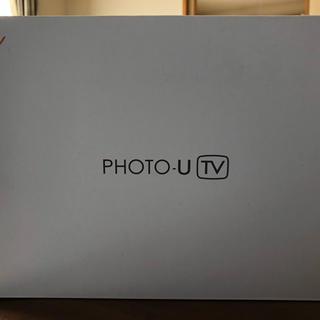 エーユー(au)のHelios様 専用 au Photo-U ZTS12SWA ホワイト(美品)(テレビ)