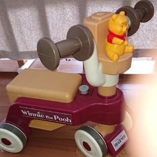 ディズニー(Disney)のプーさんおしゃべりウォーカー(手押し車/カタカタ)