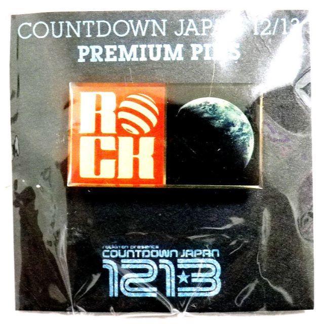 COUNTDOWNJAPAN2012 ピンバッチ 500円ポッキリ その他のその他(その他)の商品写真