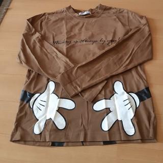 ディズニー(Disney)のミッキー  ロンティー(Tシャツ(長袖/七分))
