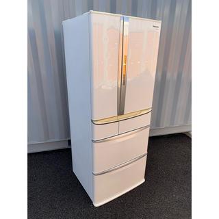 パナソニック(Panasonic)のパナソニック 冷凍冷蔵庫 自動製氷付き フレンチ 6ドア 470L(冷蔵庫)