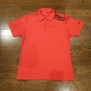 アディダス(adidas)のアディダス ジッパーシャツ(Tシャツ/カットソー(半袖/袖なし))