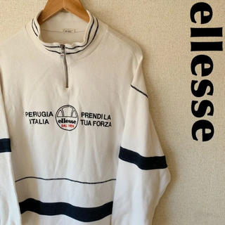 エレッセ(ellesse)の古着屋購入 ellesse エレッセ スウェット トレーナー デカロゴ 1226(スウェット)