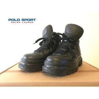 ポロラルフローレン(POLO RALPH LAUREN)のPolo Sport Ralph Lauren 厚底コンバットブーツ US7(ブーツ)