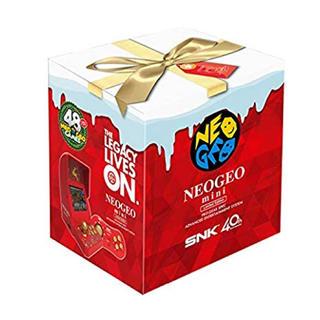 ネオジオ(NEOGEO)のNEOGEO mini クリスマス限定 正規品 (家庭用ゲーム本体)
