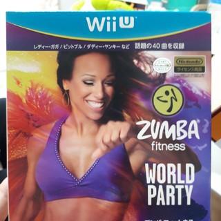 ウィーユー(Wii U)のA.H様専用★wiiU ズンバフィットネス ワールドパーティ(家庭用ゲームソフト)