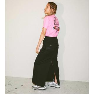 エックスガール(X-girl)のx-girl fisherman's maxi skirt(ロングスカート)