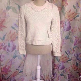 アッシュペーフランス(H.P.FRANCE)のケイスケカンダ セーターは女の子(ニット/セーター)