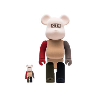 Supreme - KITH BE@RBRICK 100% & 400%
