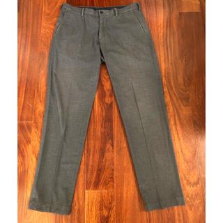 ユニクロ(UNIQLO)のパンツ「ユニクロヒートテック」グレー82センチ(スラックス/スーツパンツ)