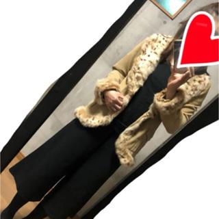 mia carna コート シープスキン(毛皮/ファーコート)