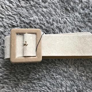 ムルーア(MURUA)の新品未使用、タグ付きMURUA ハラコビックベルト(ベルト)