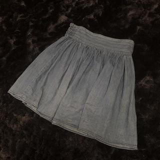 ジエンポリアム(THE EMPORIUM)のデニムスカート☆コーデ画像あり(ひざ丈スカート)