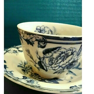 オオクラトウエン(大倉陶園)のBlue Rose★大倉陶園★コーヒーカップセット6個(食器)