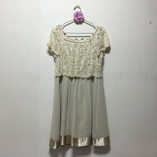 ノジェス(NOJESS)のNOJESS♡レースワンピースドレス(ひざ丈ワンピース)