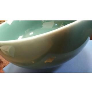 ハクサントウキ(白山陶器)の白山陶器大きめボール(エメラルドグリーン)(食器)