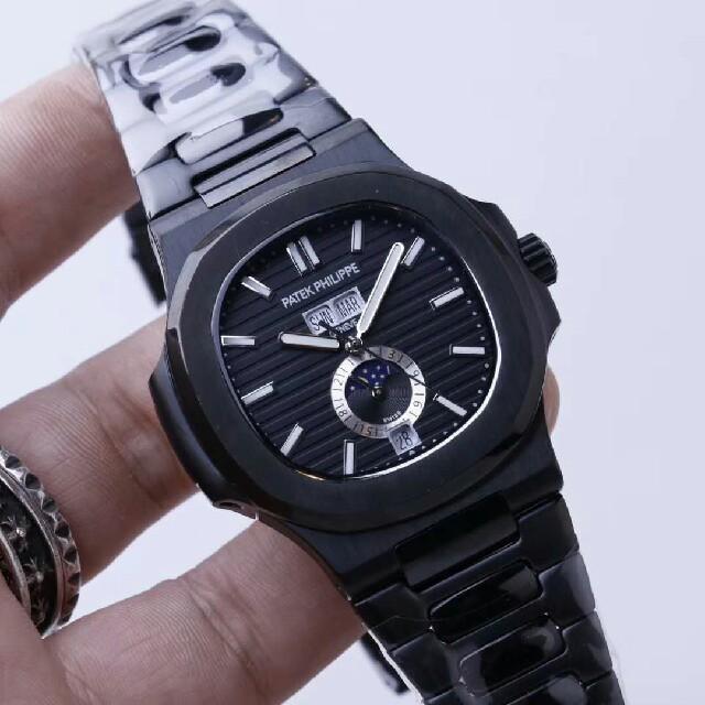 best sneakers 73ed5 0ec52 パテックフィリップ ノーチラス 腕時計 ブラック | フリマアプリ ラクマ