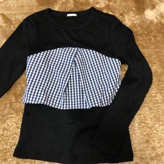 ジーユー(GU)のデザインTシャツ(Tシャツ(長袖/七分))
