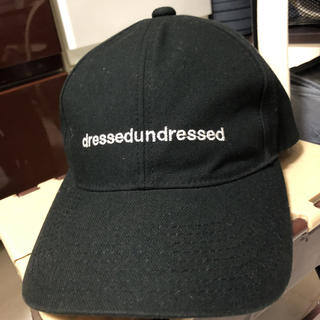 ドレスドアンドレスド(DRESSEDUNDRESSED)のドレスアンドレスド CAP (キャップ)