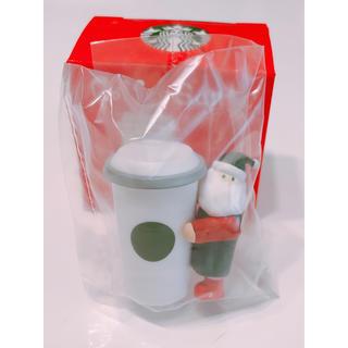 スターバックスコーヒー(Starbucks Coffee)の【Starbucks】コーヒーサンタ カップサンタ(ノベルティグッズ)