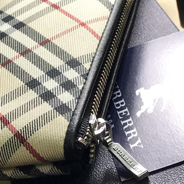 BURBERRY(バーバリー)の新品未使用  Burberry  バーバリー  ペンケース インテリア/住まい/日用品の文房具(ペンケース/筆箱)の商品写真