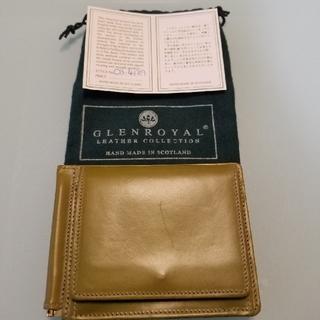 グレンロイヤル(GLENROYAL)のGLENROYAL 財布(マネークリップ型)(折り財布)