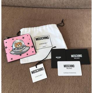 モスキーノ(MOSCHINO)のMOSCHINO UFOテディ ウォレット(財布)